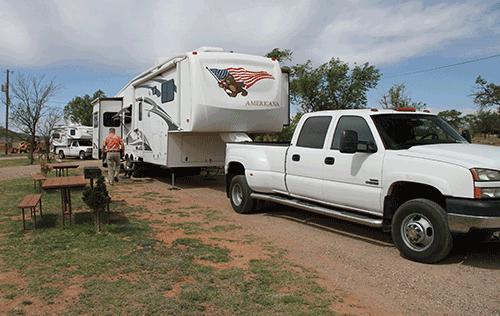 RV Site Tucumcari